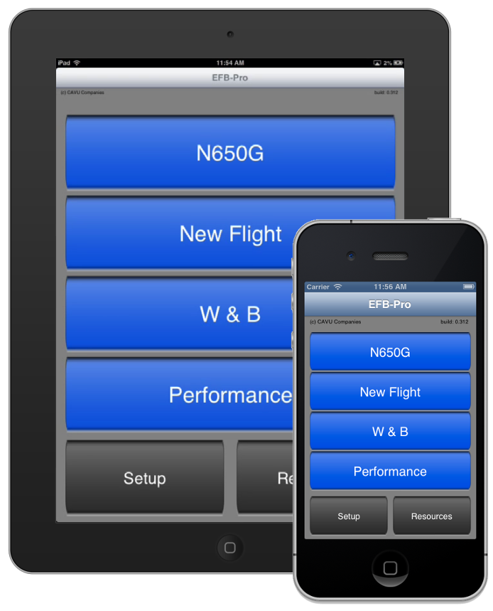 EFB-Pro for iPhone/iPad (Turbine)