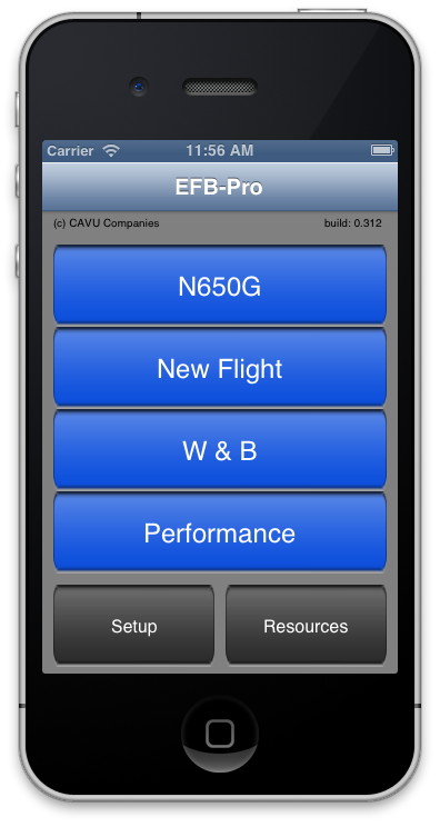 EFB-Pro on iPad for CONTRACT PILOTS ONLY
