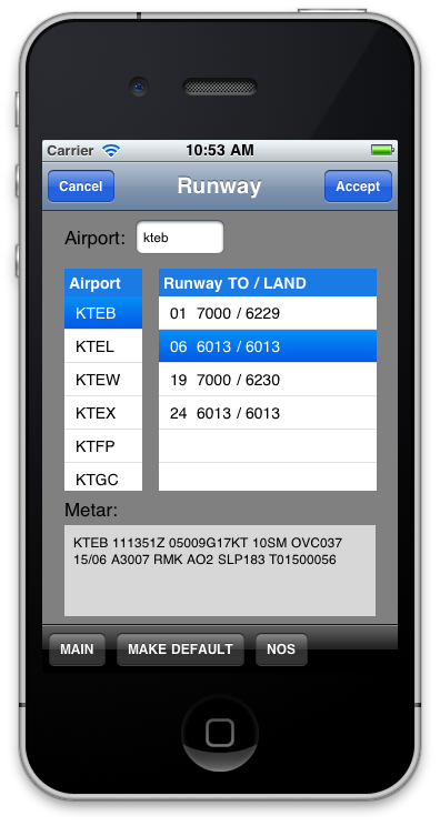 EFB-Pro for iPad for Single-engine Recip